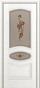 Дверь Лайндор Оливия Л тон 38 стекло Рим-СТ