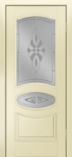 Дверь Лайндор Оливия Л тон 42 стекло Византия