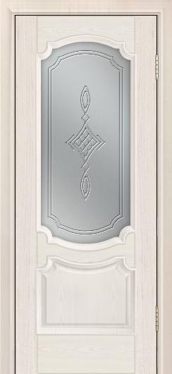 Дверь Лайндор Селеста тон 27 стекло Сириус светлое