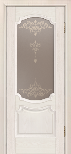 Дверь Лайндор Селеста тон 27 стекло Шарм бронза