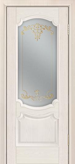 Дверь Лайндор Селеста тон 27 стекло Элегия св наливка золото