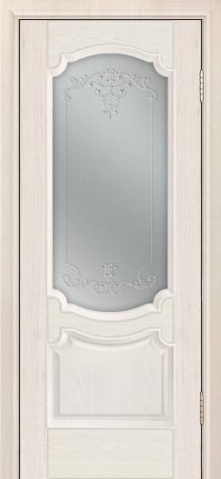 Дверь Лайндор Селеста тон 27 стекло Элегия св наливка прозрачная