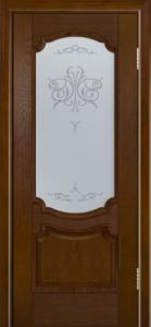 Дверь Лайндор Селеста тон 30 стекло Бабочка светлое