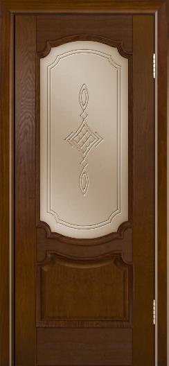Дверь Лайндор Селеста тон 30 стекло Сириус бронза