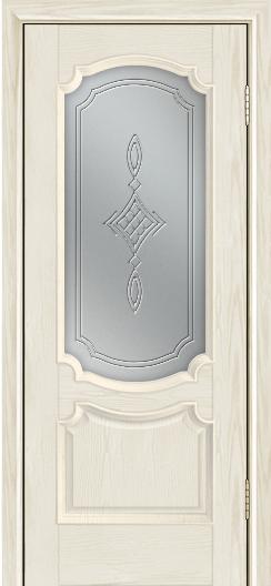 Дверь Лайндор Селеста тон 34 стекло Сириус светлое