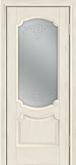Дверь Лайндор Селеста тон 34 стекло Элегия св наливка прозрачная