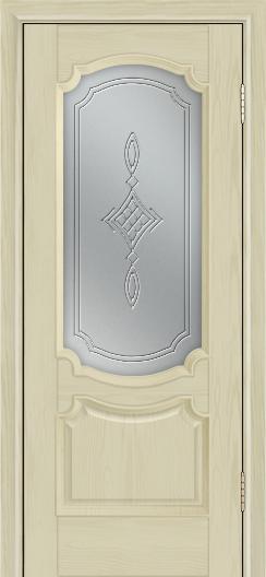 Дверь Лайндор Селеста тон 36 стекло Сириус светлое
