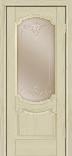 Дверь Лайндор Селеста тон 36 стекло Элегия бронза наливка прозрачная