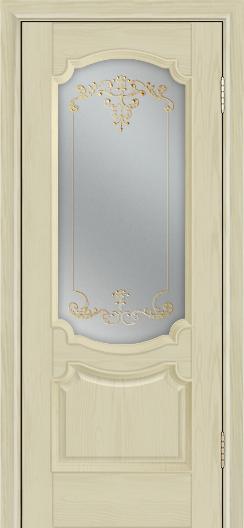 Дверь Лайндор Селеста тон 36 стекло Элегия св наливка золото
