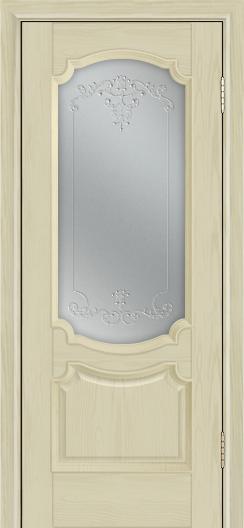 Дверь Лайндор Селеста тон 36 стекло Элегия св наливка прозрачная
