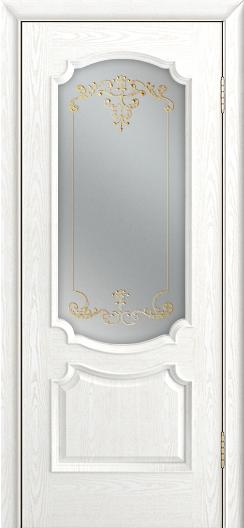 Дверь Лайндор Селеста тон 38 стекло Элегия св наливка золото