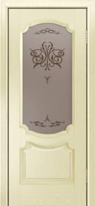 Дверь Лайндор Селеста тон 42 стекло Бабочка бронза