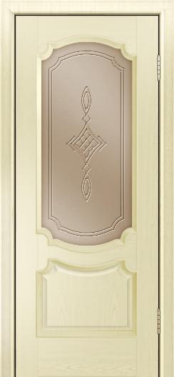 Дверь Лайндор Селеста тон 42 стекло Сириус бронза