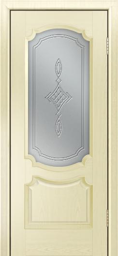Дверь Лайндор Селеста тон 42 стекло Сириус светлое