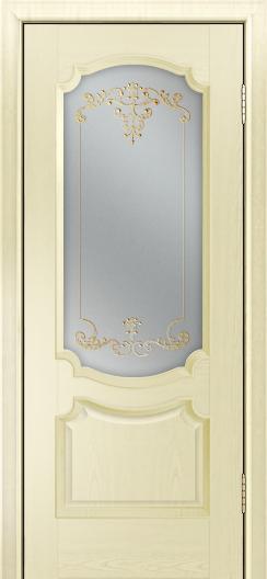 Дверь Лайндор Селеста тон 42 стекло Элегия св наливка золото