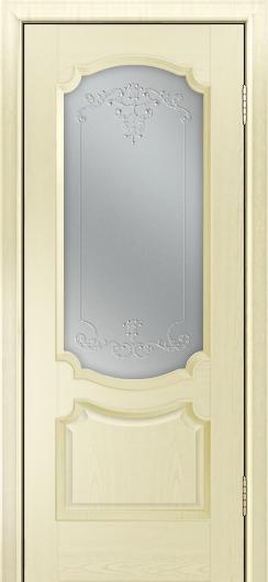 Дверь Лайндор Селеста тон 42 стекло Элегия св наливка прозрачная