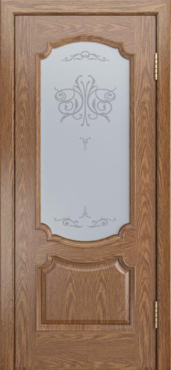 Дверь Лайндор Селеста тон 45 стекло Бабочка светлое