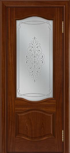 Дверь Лайндор София тон 10 стекло Вива сатин