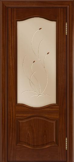 Дверь Лайндор София тон 10 стекло Ковыль бронза