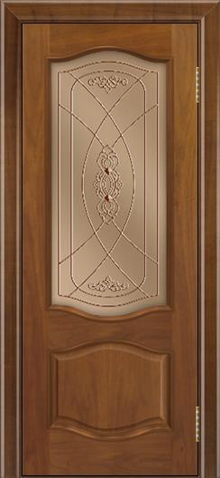 Дверь Лайндор София тон 23 стекло Бронза фреза