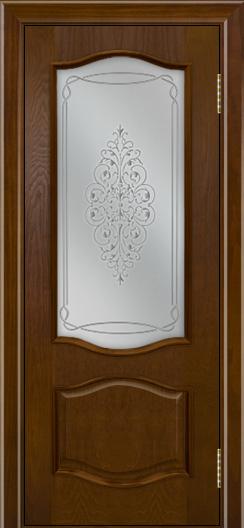 Дверь Лайндор София тон 30 стекло Вива сатин