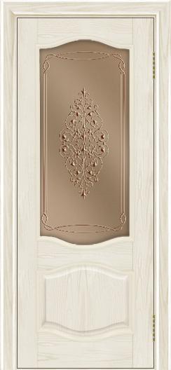 Дверь Лайндор София тон 34 стекло Вива