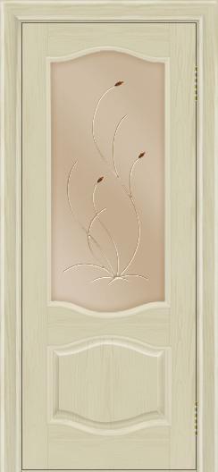 Дверь Лайндор София тон 36 стекло Ковыль бронза