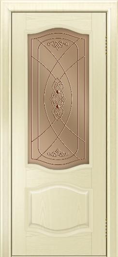 Дверь Лайндор София тон 42 стекло Бронза фреза