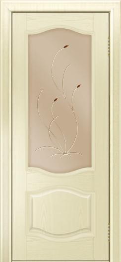 Дверь Лайндор София тон 42 стекло Ковыль бронза