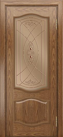 Дверь Лайндор София тон 45 стекло Бронза фреза