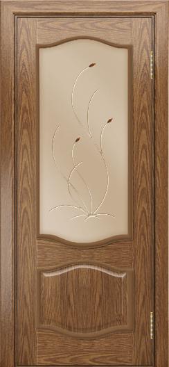 Дверь Лайндор София тон 45 стекло Ковыль бронза