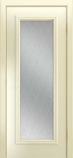 Двери Лайндор Валенсия Д эмаль бисквит стекло Лондон