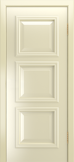 Двери Лайндор Грация Д эмаль бисквит