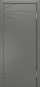 Двери Лайндор Ника Ф2 Сфера эмаль Кварц
