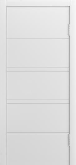 Двери Лайндор Ника Ф3 Горизонт эмаль Белая