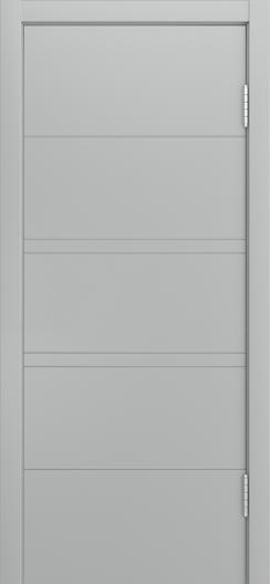 Двери Лайндор Ника Ф3 Горизонт эмаль Серая