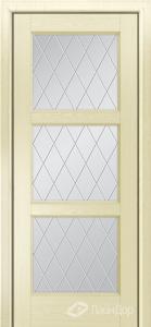 Двери ЛайнДор Грация К тон 42 стекло Лондон светлое