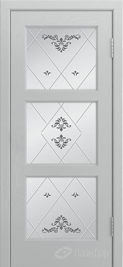 Двери ЛайнДор Грация К тон 46 стекло Прима