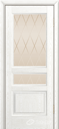 Двери ЛайнДор Калина К тон 38 стекло Лондон бронза
