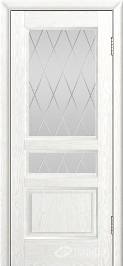 Двери ЛайнДор Калина К тон 38 стекло Лондон