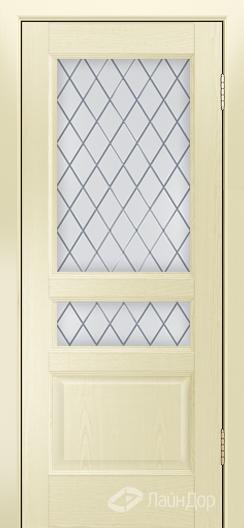 Двери ЛайнДор Калина К тон 42 стекло Милтон