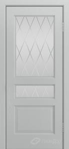 Двери ЛайнДор Калина К тон 46 стекло Лондон