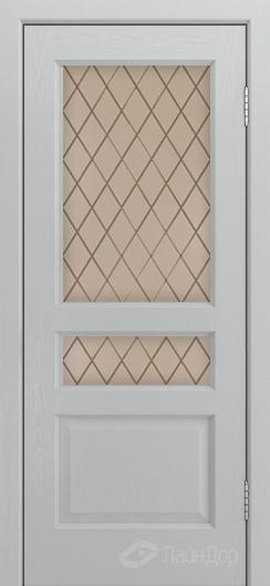 Двери ЛайнДор Калина К тон 46 стекло Милтон бронза