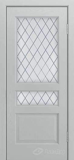 Двери ЛайнДор Калина К тон 46 стекло Милтон