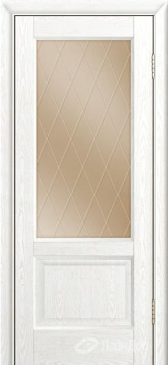 Двери ЛайнДор Кантри К тон 38 стекло Лондон бронза