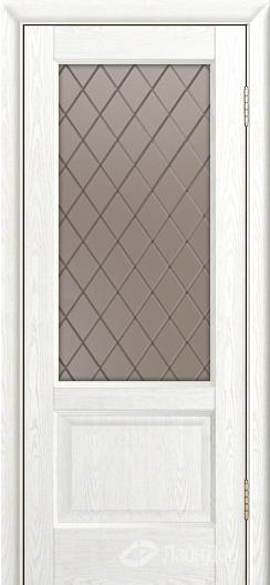 Двери ЛайнДор Кантри К тон 38 стекло Милтон бронза