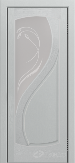 Двери ЛайнДор Новый стиль тон 46 стекло Новый стиль фреза