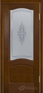 Двери ЛайнДор Пронто К тон 30 стекло Вива сатин