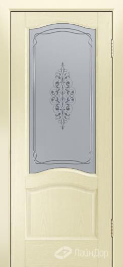 Двери ЛайнДор Пронто К тон 42 стекло Вива сатин