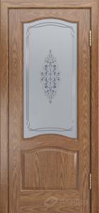 Двери ЛайнДор Пронто К тон 45 стекло Вива сатин